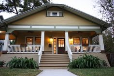 1920's Craftsman Bungalow - traditional - exterior - san diego - by Green Button Homes LLC