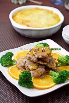 橙汁燒肉片1