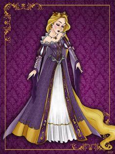 Queen Rapunzel by gfantasy92 on DeviantArt