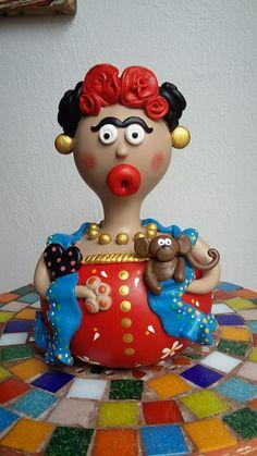 Minha 1° Frida Kahlo. InLove