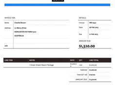 Newspaper Xero Invoice Template All Of Our Packages Include A - How to export invoices from quickbooks to excel universal studios store online
