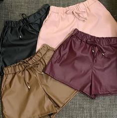 Crop Top Outfits, Short Outfits, Trendy Outfits, Summer Outfits, Cute Outfits, Cotton Shorts Women, Black Girl Fashion, Teen Fashion Outfits, Chor