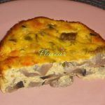 CIUPERCI GRATINATE Quiche, Vegetarian, Cooking, Breakfast, Food, Home, Gratin, Cuisine, Kitchen