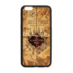 Coque iphone 6 (4.7 inch) TPU Accessories iphone - Harry Potter Marauder's Map - Durable Meilleure Coque De Protection
