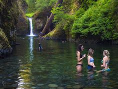 RobertCross1 (off and on) posted a photo:  This oft-photographed spot along the Eagle Creek trail in Oregon's Columbia River Gorge is typically shown as as if it were some sort of secluded place, far off the beaten path. In summer, however, especially on hot afternoons, it is anything but – transforming into one of the most popular swimming holes for people from Portland and all up and down the Gorge.  I hope you have a wonderful weekend – thanks for stopping by.