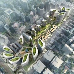 The Green Dunes Urban Park , Beijing | Girimun Architects [Future Architecture: Boeing]
