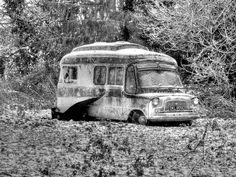 Rusty Bedford Camper Van