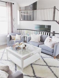 living room interior design ,white, black, gold, sea-foam green, rustic, chic, contemporary, Moroccan shag rug