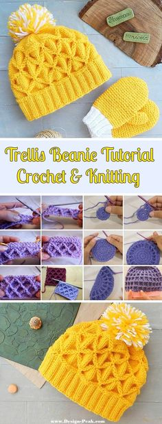 From a bunch of different trellis and waffle beanies, both knitted and crocheted, we have chosen the most interesting and creative ones to share with our readers. Today's article is a tutorial collage of some of the most precise waffle and trellis beanie guidelines. Both knitting and crocheting tutorials are embedded. We also have linked… Read More Trellis Beanies – Crochet & Knitting