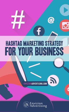 How to use TWITTER HASHTAGS as part of your social media marketing strategy: http://www.envizionadvertising.com/social-media/hashtag-marketing-strategy-for-your-business/