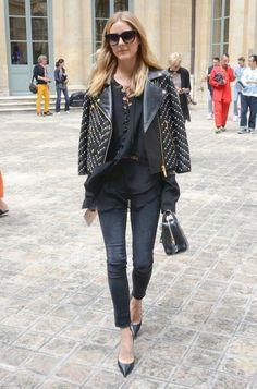 Desvistiéndote para vestirte - Los diseñadores favoritos de Olivia Palermo Black Orquid