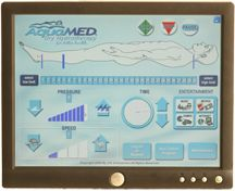 hydromassage touchscreen image | The AquaMED ® -HydroMassage ® TouchScreen