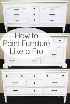 How To Paint Furniture Like a Pro - Creative DIY Ideas