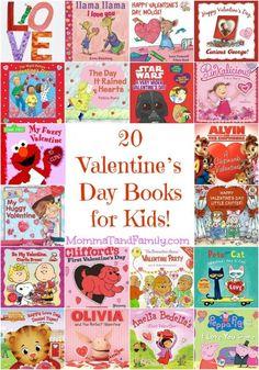 20 Valentine's Day Books for Kids!