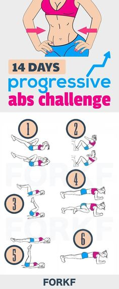 In just 14 days, you're going to burn belly pooch, and feel a toned, different belly just by following this progressive abs challenge.