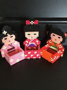 Kokeshi Perles Hama Boîte