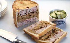 Caramelised Leek and Fennel Pork Pie