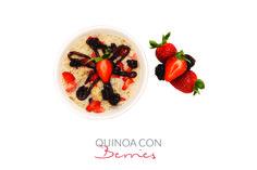 Quinoa, para el desayuno... Excelente idea.