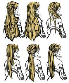 hair hair reference Choose an Elegant Waterfall Ha Character Inspiration, Character Art, Character Design, Character Sketches, Character Costumes, Character Outfits, Character Ideas, Hair Inspiration, Art Reference Poses