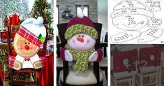 Aprende cómo hacer hermosas fundas de navidad para tus sillas - Costura y Patrones