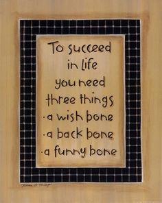 To Three Things wall art poster on Wall Art To Inspire - Click image to find more DIY & Crafts Pinterest pins