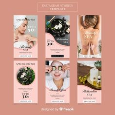 Beautiful woman enjoy spa with stones Photo Social Media Template, Social Media Design, Feeds Instagram, Instagram Posts, Magazine Ideas, Spa Accessories, Instagram Post Template, Instagram Design, Beauty Spa
