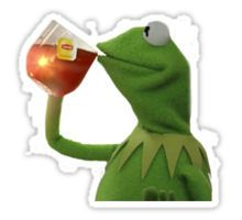 But that's none of my business Sticker