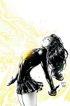 Mary Marvel by Ed Benes. Color by Rod Reis