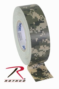 A must for every EDC and Survival Kit - Rothco ACU Digital Camouflage Duct Tape From Rothco Camping Survival, Survival Prepping, Survival Gear, Disaster Preparedness, Camping Gear, Tactical Equipment, Tactical Gear, Army Combat Uniform, Cl Shoes