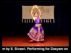Sivasri Bharathanatyam - Thodaya Mangalam - YouTube