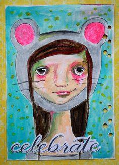 Art Journal Seite von Britta für www.danipeuss.de | The documented Life