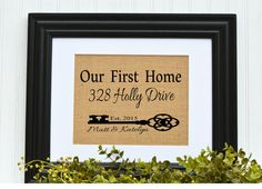 House Warming Gift  New Home Housewarming by BlessedHomesteadShop