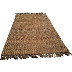 Jaipur Naturals Tobago Rug - 5' x 8' ($300) ❤ liked on Polyvore featuring home, rugs, pile rug, beige area rugs, cream jute rug, indian rugs and ivory rug