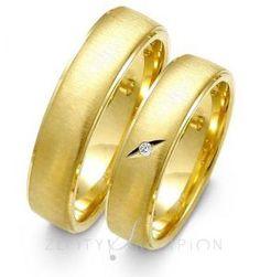 Obrączki ślubne kolekcja Złoty Skorpion wzór SL23