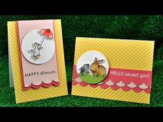 Intro to Hello Baby + 2 cards from start to finish
