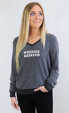 03028aa7e7ed Wildfox Baggy Beach Pullover Weekend Sweater