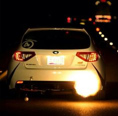 This are the only lights you'll see when you go against a subaru !