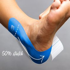 how to use k tape on a torn ankle Body Therapy, Physical Therapy, Ankle Sprain Recovery, Ankle Taping, K Tape, Kinesiology Taping, Sprained Ankle, Learn To Run, Athletic Training