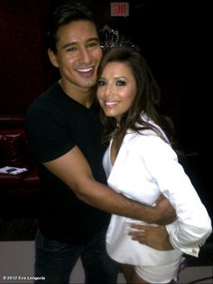 Eva Longoria's photo: With my best friend @mariolopezextra at Beso Hollywood!!