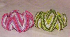 Snake Bracelet in Peyote (translate) #Seed #Bead #Tutorials