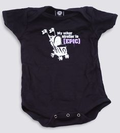 J!NX : World of Warcraft [EPIC] Stroller Baby One-Piece - Clothing Inspired by Video Games & Geek Culture