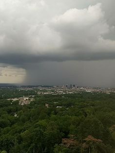 Heavy downpour just north and east of downtown Birmingham... photo from @mrco555