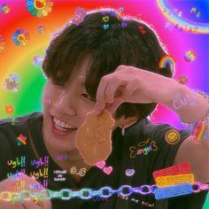 Jungkook Cute, Foto Jungkook, Bts Taehyung, Bts Jimin, Foto Bts, Bts Photo, Rainbow Aesthetic, Kpop Aesthetic, Jung Kook