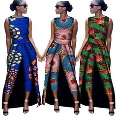 Item Type: Africa Clothing Type: Romper JumpsuitGender: WomanFabric: Cotton WaxThings to note:To purchase this product, carefully crosscheck your measurement on the size chart image and then select th African Wedding Dress, African Print Dresses, African Fashion Dresses, African Dress, African Clothes, Ankara Fashion, African Prints, African Inspired Fashion, African Print Fashion