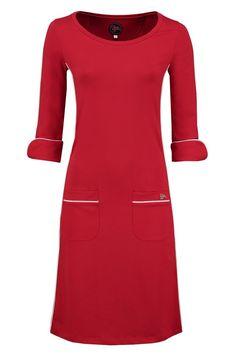 Dress Patsy Stripe Red -Tante Betsy.com