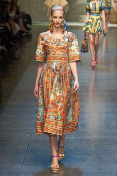 Dolce & Gabbana Primavera verano 2013