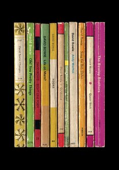 David Bowie 'Hunky Dory' Album As Penguin Books