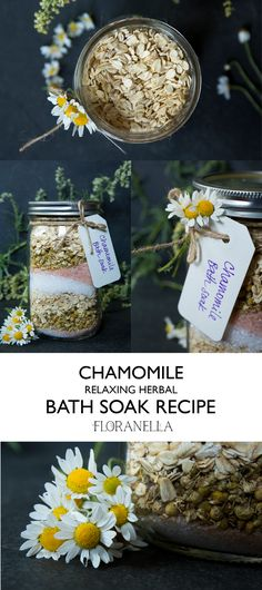 Chamomile Relaxing Bath Soak Recipe – Floranella
