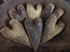 Primitive Hearts Earlyprimfolksbyjudy