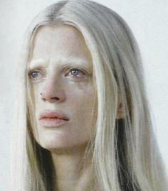 Kristen Mcmenamy by Tim Walker        the origin of monsters,kristen mcmenamy by tim walker for love magazine spring summer 2012